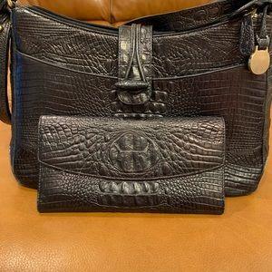 Beautiful Black Brahmin wallet